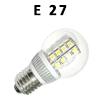 LED žiarovky E27