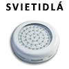 LED podhľadové svetlá