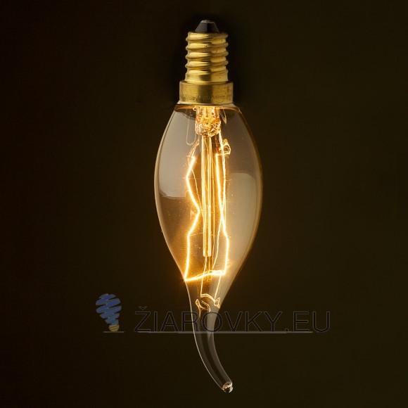 EDISON žiarovka - PULLTAIL - E27, 40W