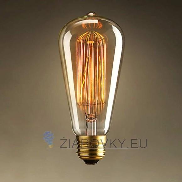 EDISON žiarovka - TEARDROP - E27, 40W