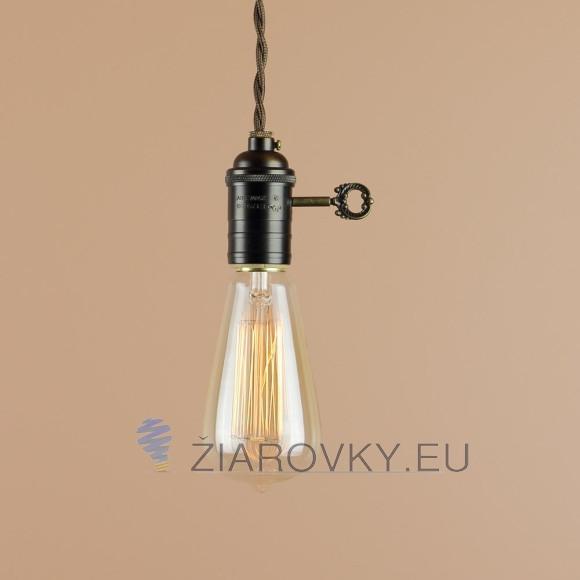 EDISON žiarovka - TEARDROP - E27, 40W z kolekcie EDISON