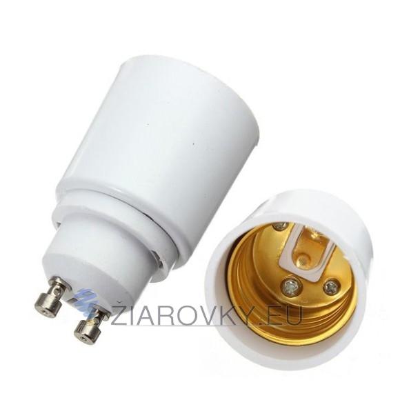 Umožní použiť žiarovku s päticou E27 aj vo svietidle ktoré je vybavené závitom GU10