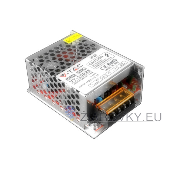 LED transformátor ACDC 12V 25W 2,08A