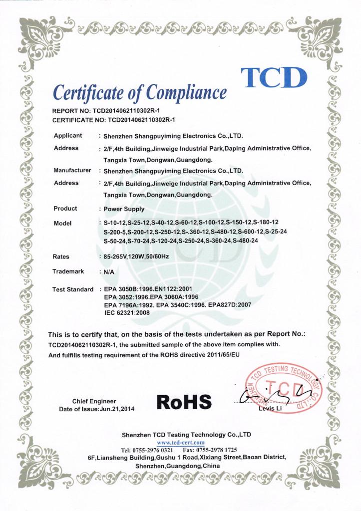 ROHS3 723x1024 CE a RoHS Certifikáty