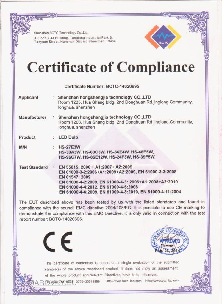 cerohs 1 746x1024 CE a RoHS Certifikáty