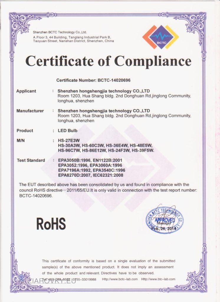 cerohs 2 746x1024 CE a RoHS Certifikáty
