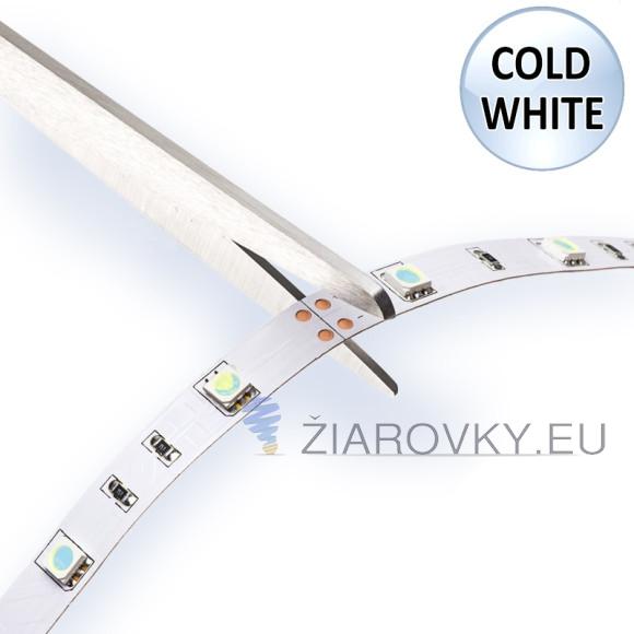 studený biely jednofarebný LED pás