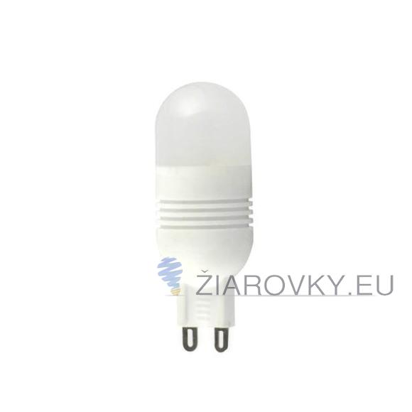 LED žiarovka - POCKETMAN - G9, 7W, Teplá biela