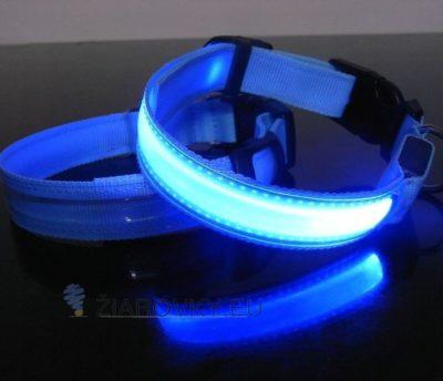 Doprajte svojim štvornohým miláčikom svietiaci LED obojok