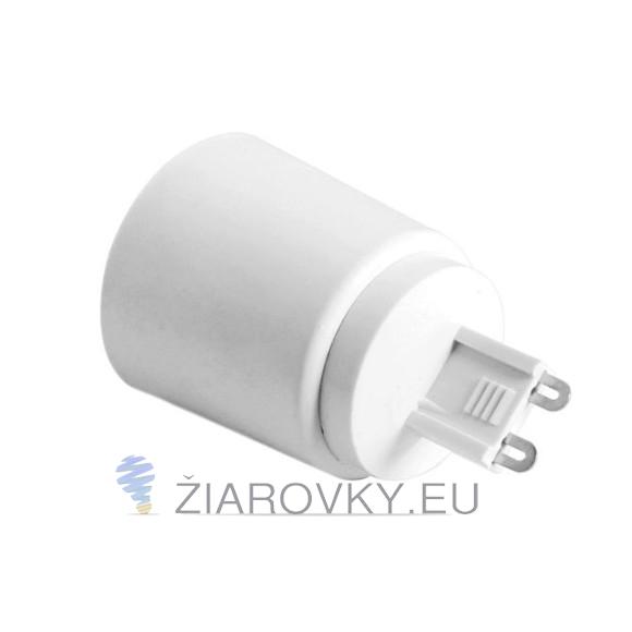 Adaptér G9 do E27 - www.ziarovky.eu