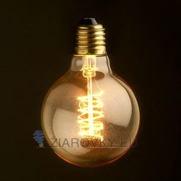 EDISON žiarovka SPIRAL GLOBUS E27 40W 120lm 580x580 AKCIE !