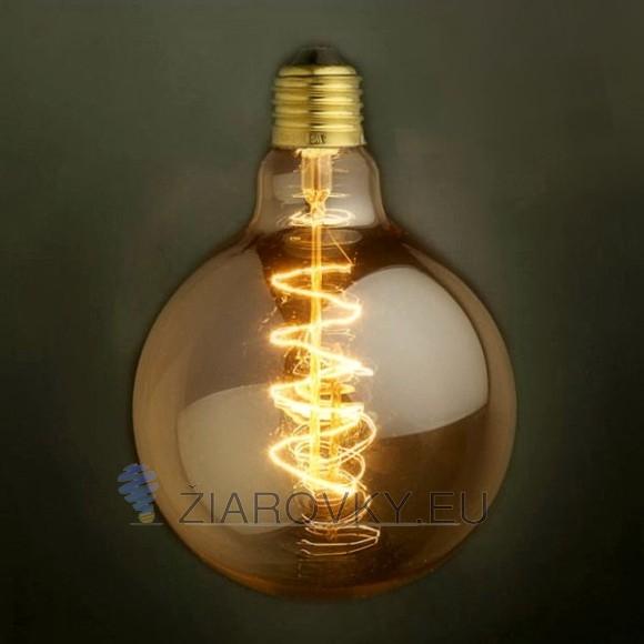 EDISON žiarovka SPIRAL GLOBUS E27 40W2 580x580 AKCIE !