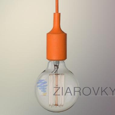 silikonove svietidlo_oranzove