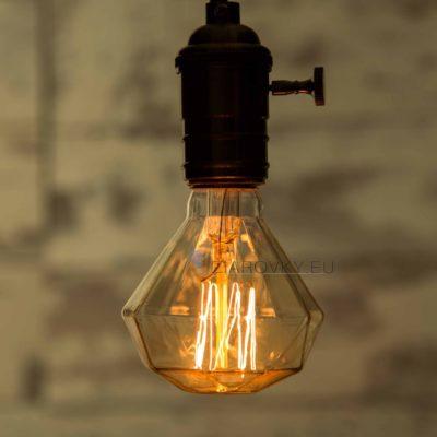 ADAMANT je dekoračná retro žiarovka je ideálna pre dosiahnutie neopakovateľnej komornej atmosféry s nádychom minulosti.