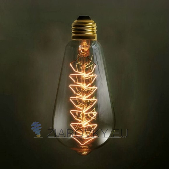 EDISON žiarovka CHRISTMAS E27 40W 120lm 580x580 AKCIE !