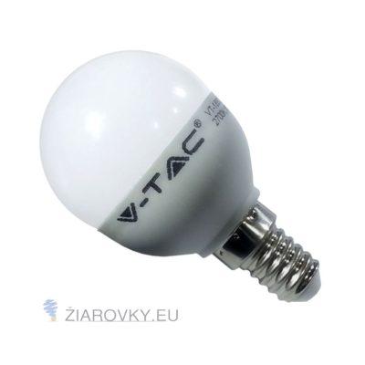 Žiarovka LED so závitom E14 a výkonom 6W s teplou bielou farbou svetla. Je vhodná na osvetlenie interiéru, chodby, obývačky alebo do záhrady