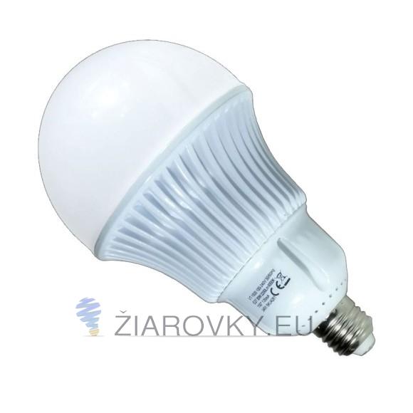Najvýkonejšia LED žiarovka so závitom E27 a výkonom 30W s dennou bielou farbou svetla ponúka svietivosť bezkonkurenčných 2200 lumenov. 580x580 AKCIE !