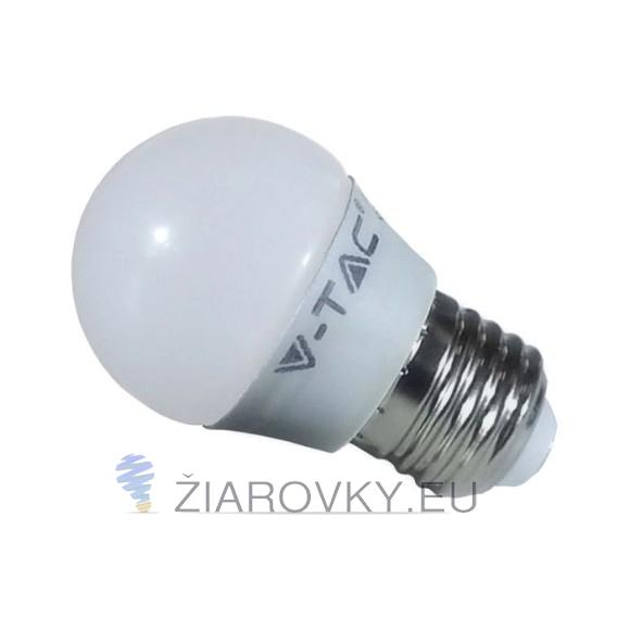 Táto kvalitná LED žiarovka so závitom E27 a výkonom 6W s teplou bielou farbou svetla
