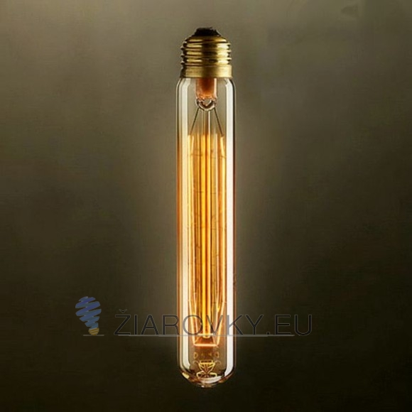 EDISON žiarovka - RUDE TUBE - E27, 40W, 120lm