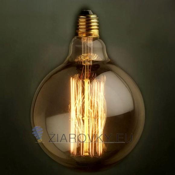 EDISON žiarovka SPHERE Navrhnutá v 19. storočí Thomasom Edisonom vyzerajú v dnešnej dobe autenticky a starožitne ako žiadny iný zdroj svetla.  580x580 AKCIE !