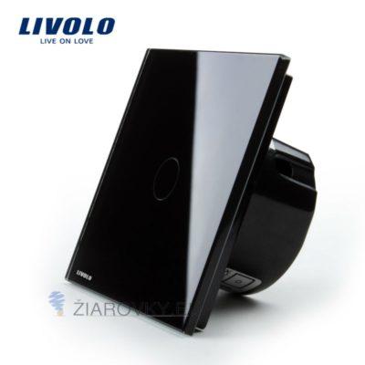 Elegantný dotykový vypínač č.1 v čiernom prevedení (1)