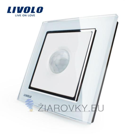 PIR pohybové čidlo, Vypínač svetla je pohybový senzor s elegantným skleneným panelom do domácnosti