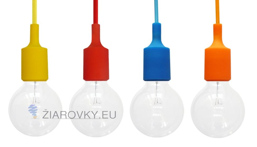 Silikónové závesné svietidlá sú moderným typom stropných svietidiel. Svietidlá sú vyrobené z kvalitného silikónu v rôznych farebných prevedeniach Silikónové závesné svietidlá