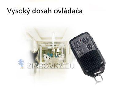 Tento univerzálny diaľkový ovládač spolupracuje len s dotyčnými vypínačmi, ktoré majú možnosť použitia diaľkového ovládača