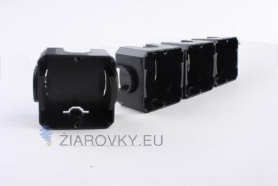 Univerzálny podomietkový box 65 x 65mm je krabica určená pre inštaláciu pod omietku (1)
