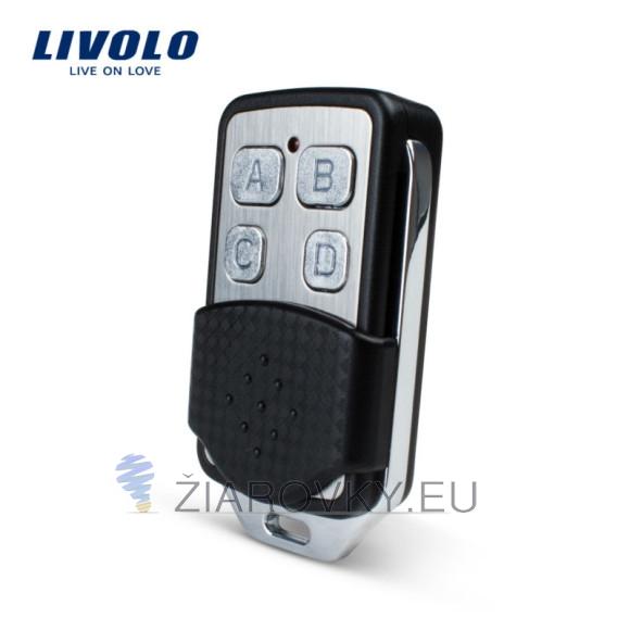 Univerzálny diaľkový ovládač k rádiovým dotykovým vypínačom LIVOLO vo forme prívesku na kľúče