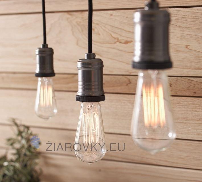 edison dekoračné žiarovky www.ziarovky.eu  ŽIAROVKY EDISON – EDISONOVE ŽIAROVKY