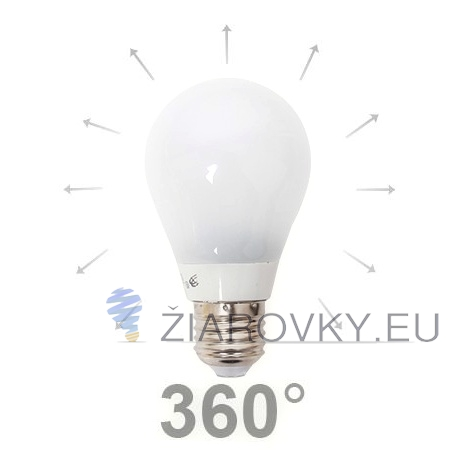 LED žiarovka BENBON - 360°, E27, 5W, Teplá biela, 400lm