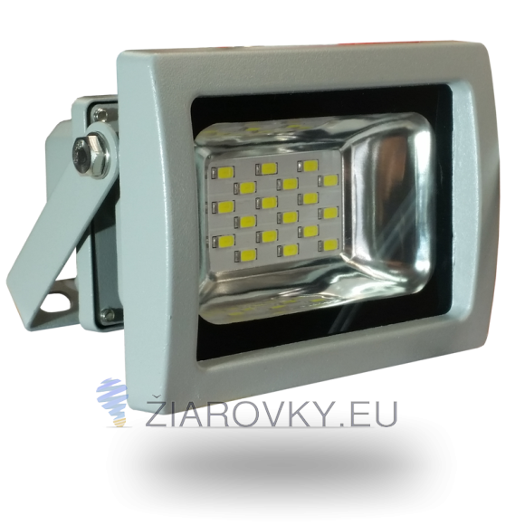 SMD LED reflektor - 10W Premium, 800lm, Studená biela