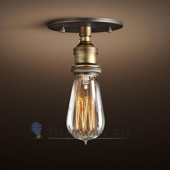 Historické stropné svietidlo Simple v retro dizajne je unikátne vďaka materiálu a historickému prevedeniu ktoré neostane bez povšimnutia 580x580 AKCIE !