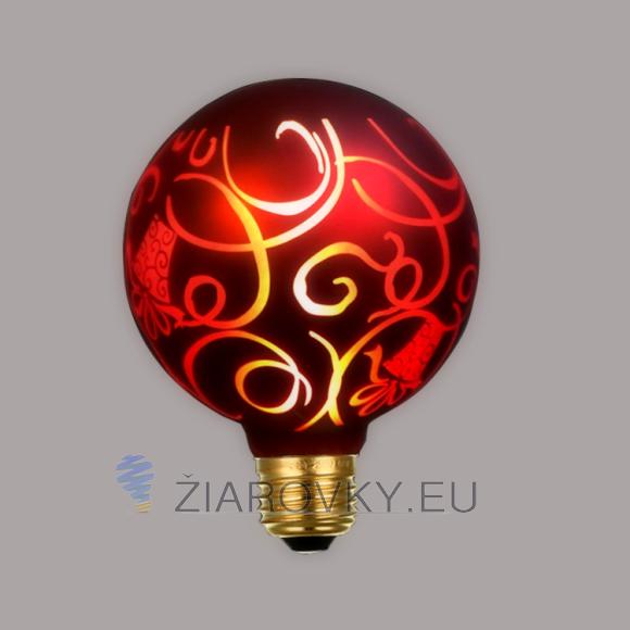 CHRISTMAS žiarovka - RED GIFT - je žiarovka z kolekcie CHRISTMAS. Toto kreatívne vianočné osvetlenie a vianočné žiarovky budú inšpiráciou pre každého.