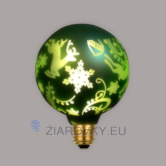 CHRISTMAS žiarovka dokáže vykúzliť kreatívne dekoračné osvetlenie vhodné pre akcie, sviatky, party a iné príležitosti
