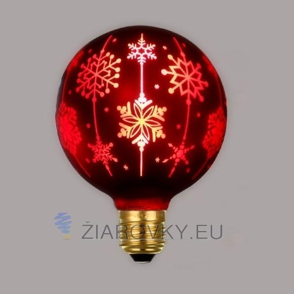 CHRISTMAS žiarovka z kreatívnej kolekcie CHRISTMAS, ktorá predstavuje novú generáciu patentovaných dekoračných žiaroviek na oslavy, sviatky a iné príležitosti