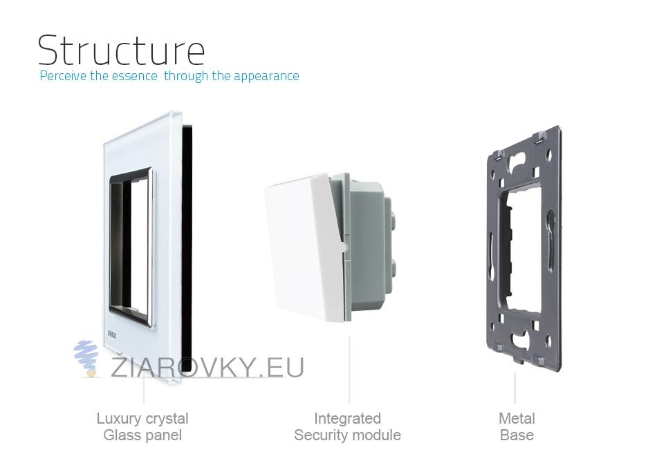 Doprajte svojmu domovu jednoduchosť a luxus pomocou tohto jednoduchého a efektného mechanického vypínača