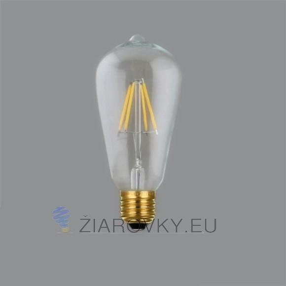 FILAMENT žiarovka TEARDROP E27 Teplá biela 4W 450lm 580x580 AKCIE !