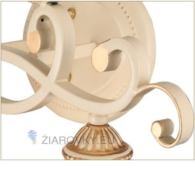 Luxusné dvojité nástenné svietidlo Krčah s ručnou maľbou (12)