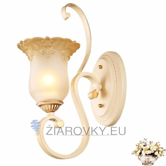Luxusné nástenné svietidlo Krčah s ručnou maľbou na žiarovky typu E27 je svietidlo určené na stenu v exkluzívnom dizajne. (3)