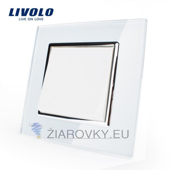 Luxusný mechanický vypínač č.1 v bielom prevedení