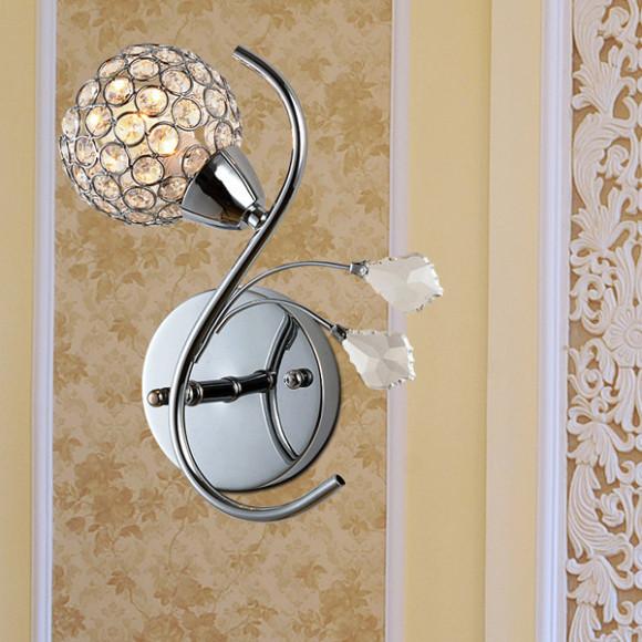 Toto moderné nástenné svietidlo je vhodné pre milovníkov štýlového bývania