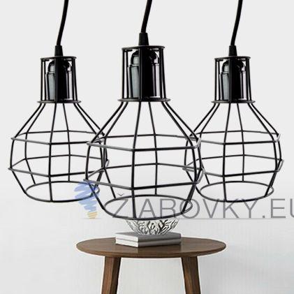 Toto moderné svietidlo disponuje netradičným dizajnom, ktorý je doplnený o kvalitné okrúhle tienidlo