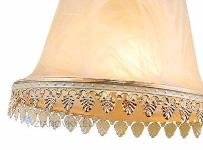 Luxusné stropné svietidlo Pohár s ručnou maľbou (7)