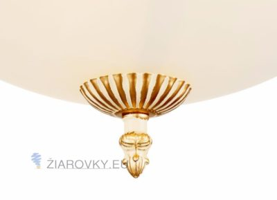 Luxusné stropné svietidlo Polmesiac s ručnou maľbou (8)