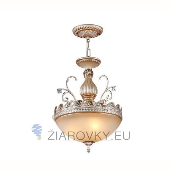 Luxusné závesné svietidlo Šíp s ručnou maľbou (6)