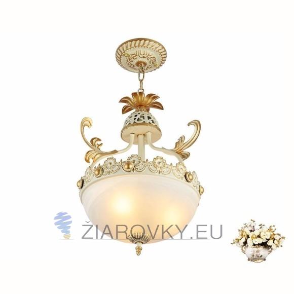 Luxusné závesné svietidlo Medúza s ručnou maľbou (4)