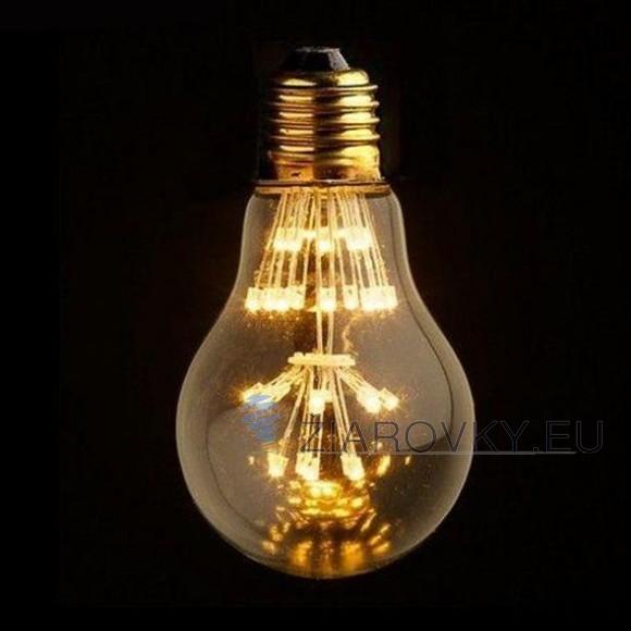 FIREWORKS žiarovka z retro kolekcie FIREWORKS v tvare pôvodnej žiarovky. Tento nový typ žiarovky spája historický vzhľad s novou formou LED technológie 580x580 AKCIE !