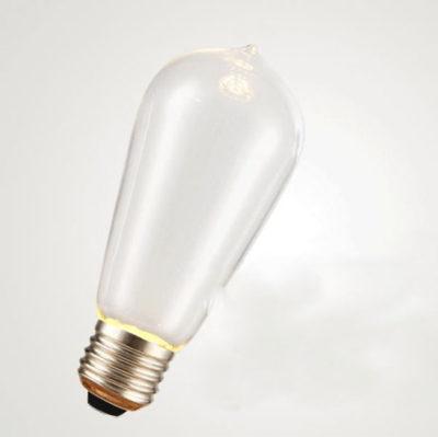 Sklo žiarovky je veľmi odolné a žiarovka vytvára krásne nezvyčajné diskrétne osvetlenie